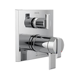 Delta Angular Modern TempAssure 17T Series Valve Trim with 3-Setting Integrated Diverter