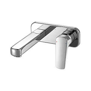 Delta Single Handle Wall Mount Bathroom Faucet Trim